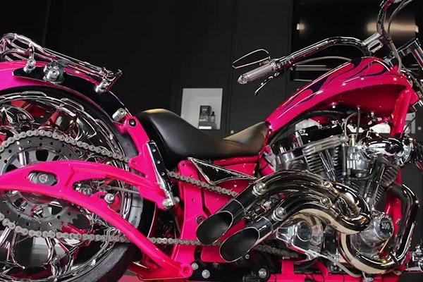 オートバイ ボディ&金属研磨
